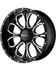 """HELO HE879 Wheel with Gloss Black Machined/Milled (17x9""""/5x135mm)"""