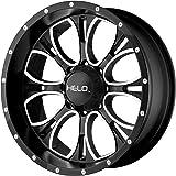 "Helo HE879 Wheel with Gloss Black Milled (16x8""/8x6.5"")"