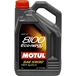 Motul MTL102898 102898 8100 Eco-nergy 5W-30 100 Percent Synthetic-5 Liter