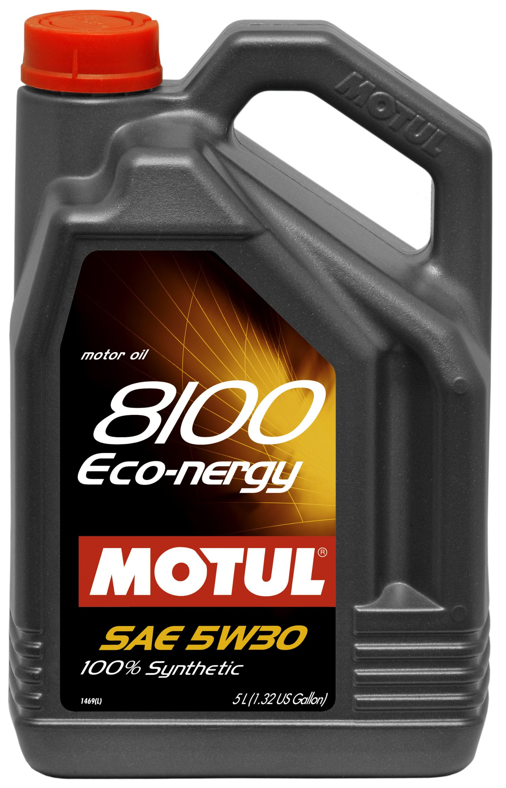 Motul 007229 8100 Eco nergy 5W30 100% Synthetic Engine Oil 5Liter 2 PK by Motul