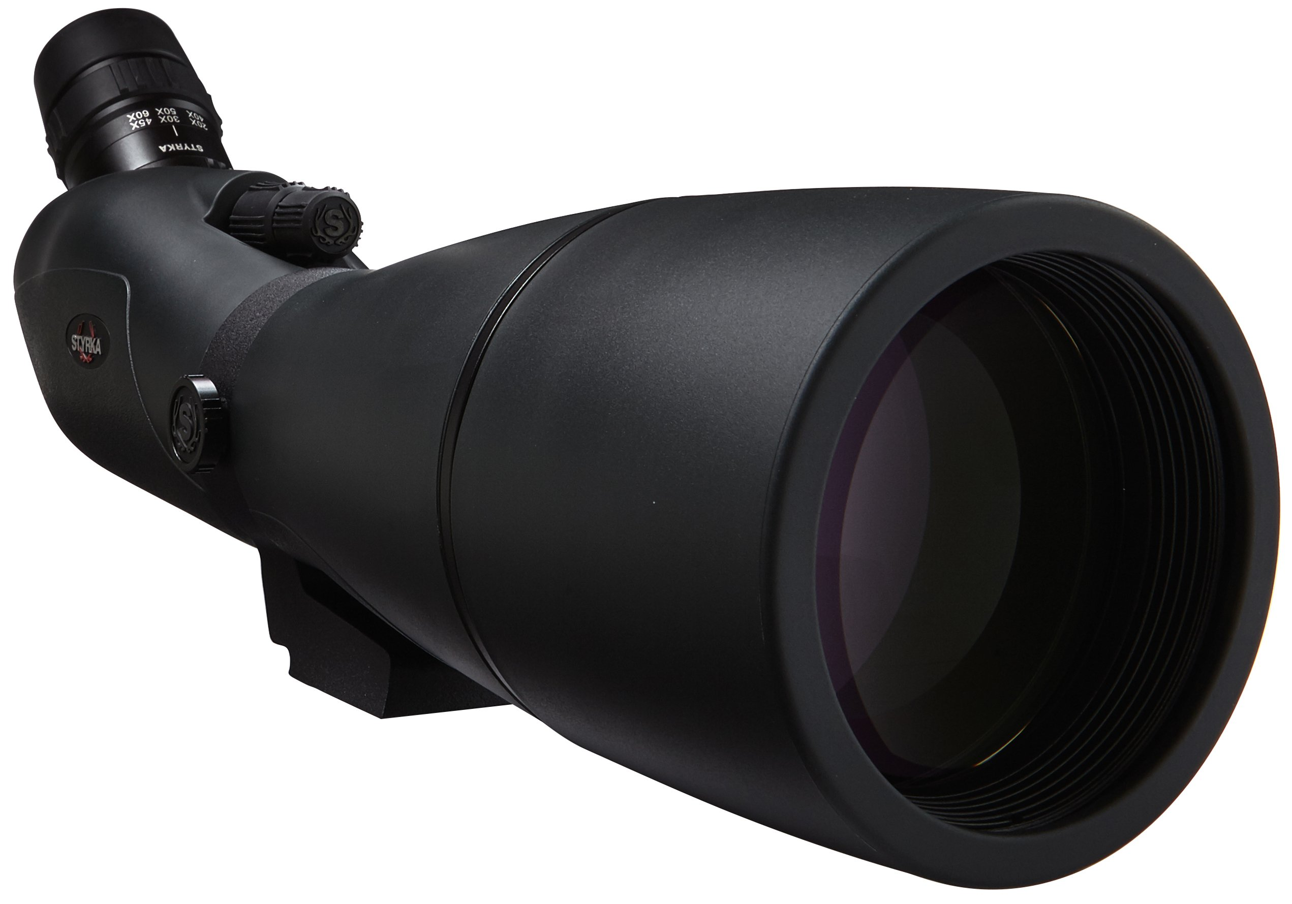 Styrka S7 Series 20-60x80 ED Spotting Scope, Dark Green, ST-15512 - Waterproof Long Range Spotting Scope for Target Shooting, Hunting, Archery, Bird Watching and Outdoor Recreation - Styrka Strong by Styrka