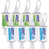 PURELL Advanced Hand Sanitizer Variety Pack, Naturals and Refreshing Gel, 1 fl oz travel size flip-cap bottle with JELLY WRAP