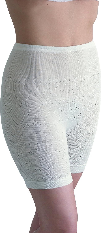 Palm/® British Made Ladies//Womens Thermal Fancy Knit Pantee