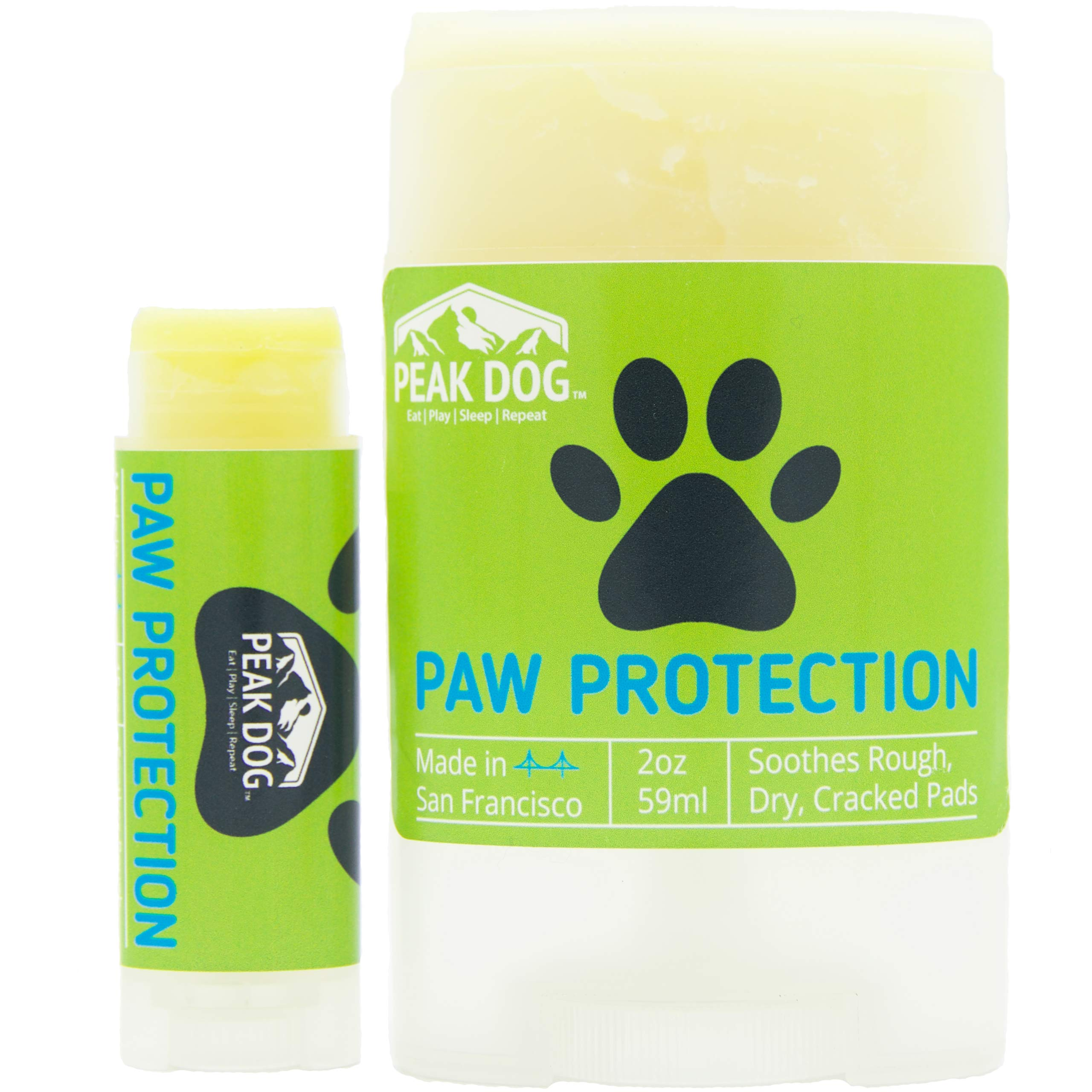 Peak Dog Paw Protector (2oz Stick & .15oz Travel Size) by Peak Dog