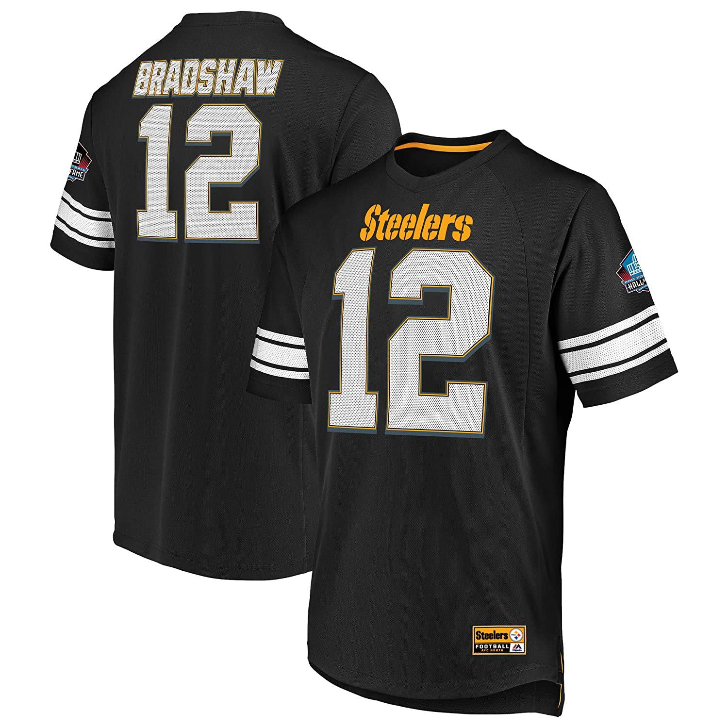 best loved 6af89 6f2fc Amazon.com : Terry Bradshaw Pittsburgh Steelers Hall of Fame ...