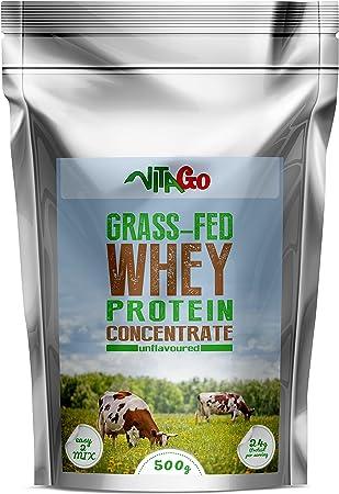 Vita-Go Grass Fed suero La proteína, el pastoreo, 100% Whey ...