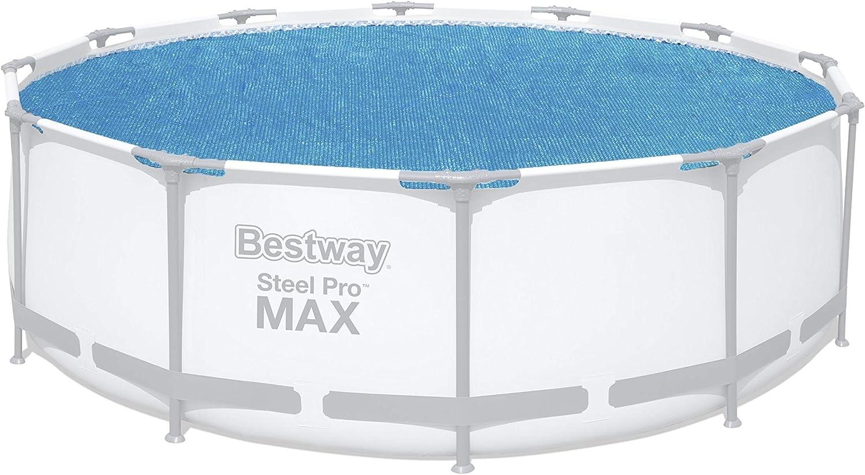 Bestway 58242 - Cobertor Solar para Piscina Desmontable Ø356 cm: Amazon.es: Jardín