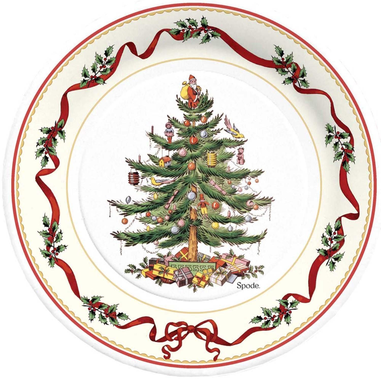 C.R. Gibson 8 Count Autumn Array Paper Dessert Plates TW9-13425