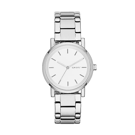 DKNY Reloj Analógico para Mujer de Cuarzo con Correa en Acero Inoxidable NY2342: DKNY: Amazon.es: Relojes