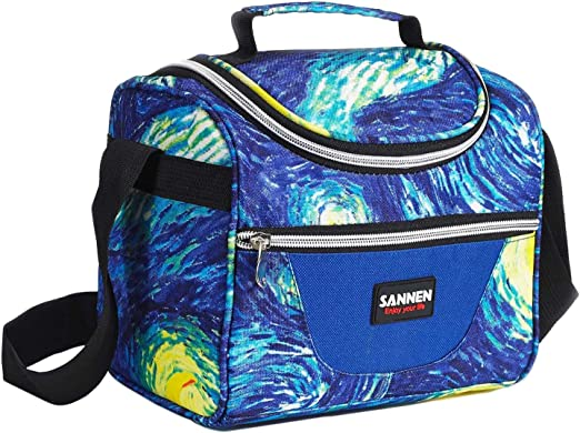 Sanne 7L Lunch Insulated bag for kids girls boys Tote school Bag