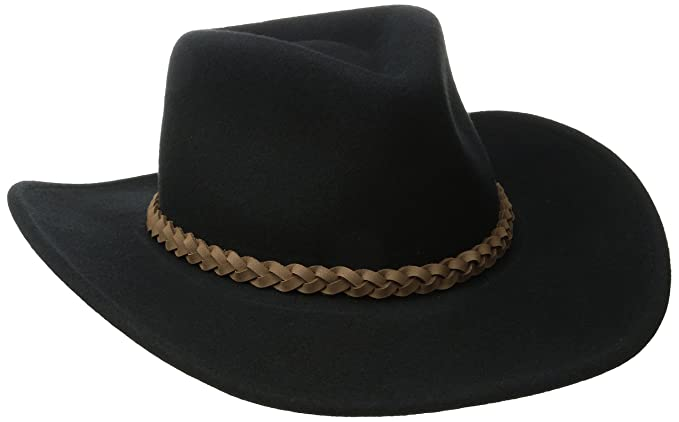 d6e6dd7b0e1 Bailey Western Wind River Collection Men s Switchback Outback Hat at Amazon  Men s Clothing store