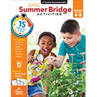 Summer Bridge Activities Workbook―Bridging Grades 4 to 5 in Just 15 Minutes a Day, Reading, Writing, Math, Science…
