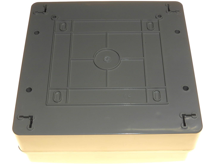 2 x 16 x 32 A disjoncteurs Etanche-IP65 2 x 6 A 6 x 63 A 30 MA Interrupteur de sortie et 2 RCD consommateur unit/é MCB