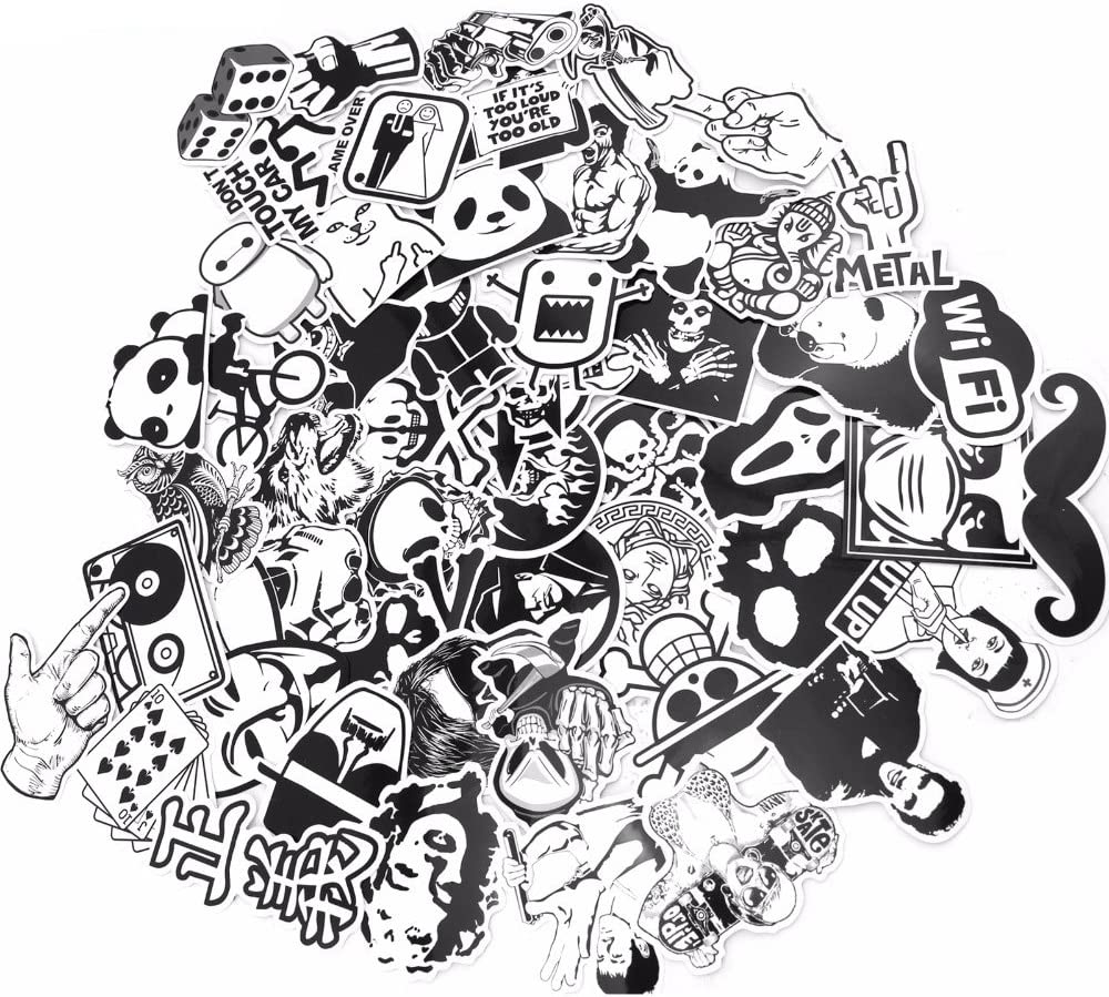 Movie Classic Sticker 25pcs Stickers Luggage Skateboard Laptop Decal Cult US Lot