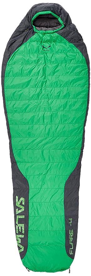 SALEWA Flare 4 SB Saco de Dormir, Unisex Adulto, Verde (Eucalyptus), Talla Única: Amazon.es: Deportes y aire libre