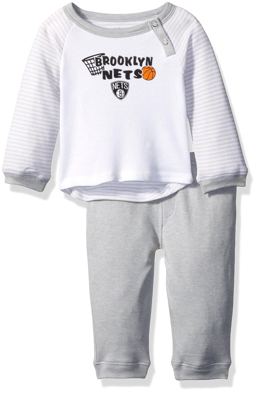 NBA 新生児 Scrimage Tシャツ & パンツセット 2枚 0-3 Months Brooklyn Nets B076BJ53ZN