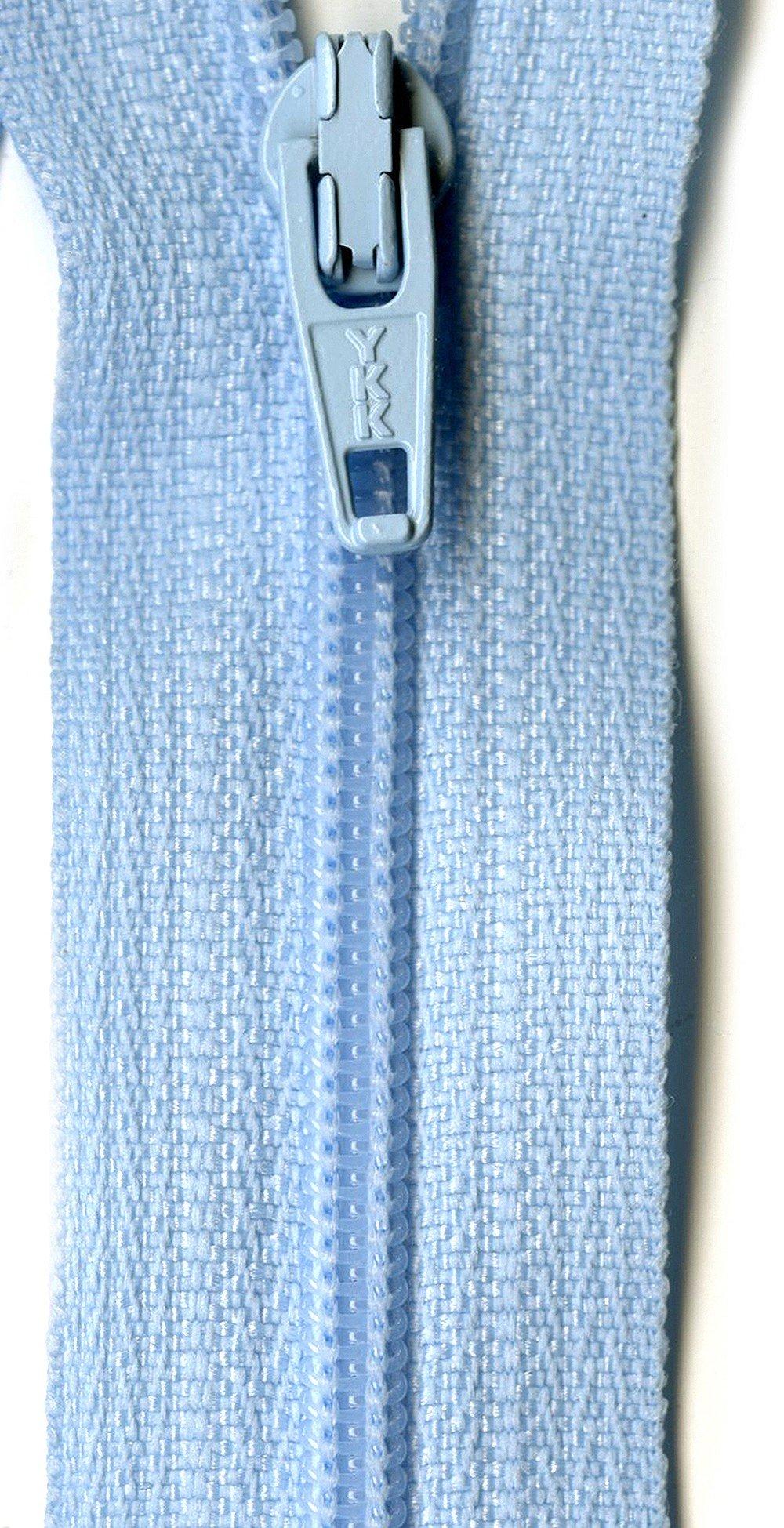 American & Efird Ziplon Coil Zipper 14''-Baby Blue by American & Efird