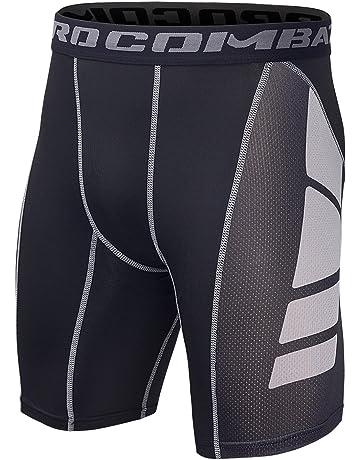 ff374b8fd3d6 Pantalones cortos de running para hombre | Amazon.es