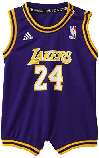 NBA Infant Los Angeles Lakers Kobe Bryant Away Onesie Jersey - R22Uskka  (Purple 5d224111e04d