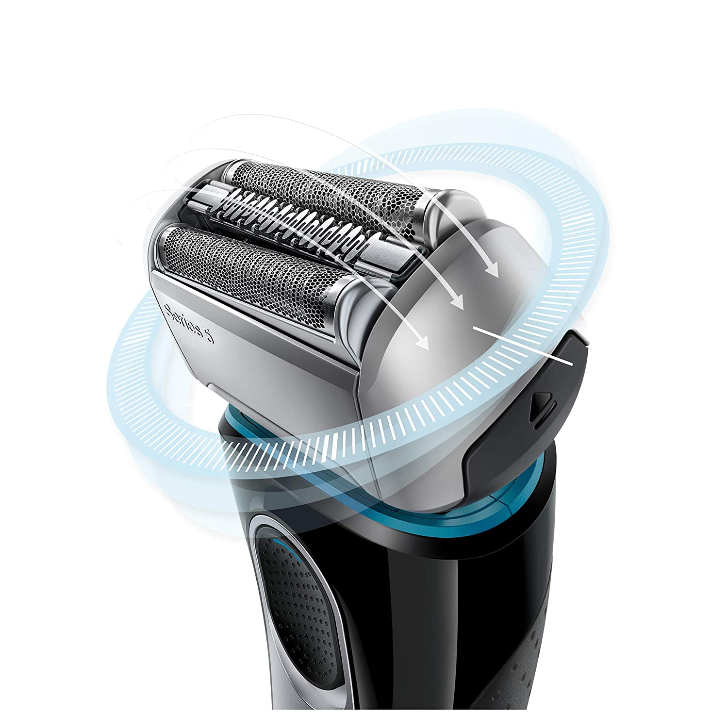 Braun Electric Razor for Men Electric Shaver, Series 5 5190cc, Rechargeable with Clean Charge Station