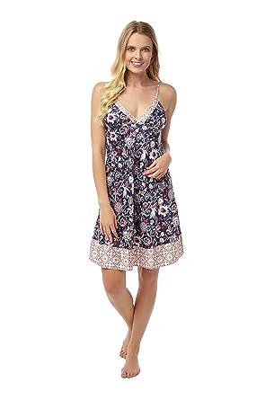 d56a776a18034b Indigo Sky Damen Nachthemd: Amazon.de: Bekleidung
