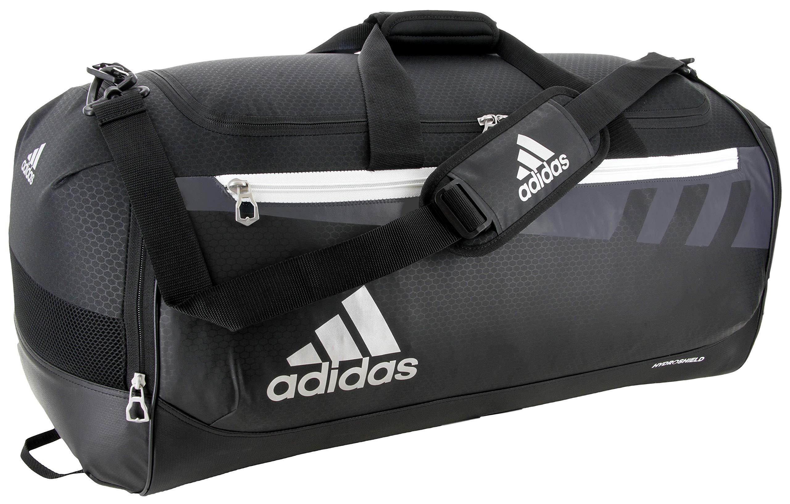 adidas Unisex Team Issue Medium Duffel Bag, Black, ONE SIZE by adidas