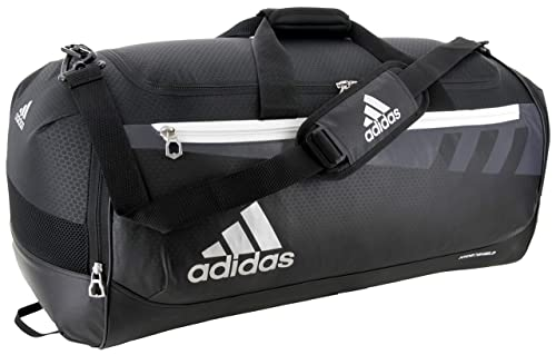 look out for quality authentic quality Amazon.com: adidas Unisex Team Issue Large Duffel Bag, Black ...