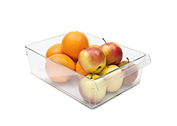 Kühlschrank Organizer Stapelbar : Rotho kühlschrankorganizer 5 l l loft transparent organizer für den
