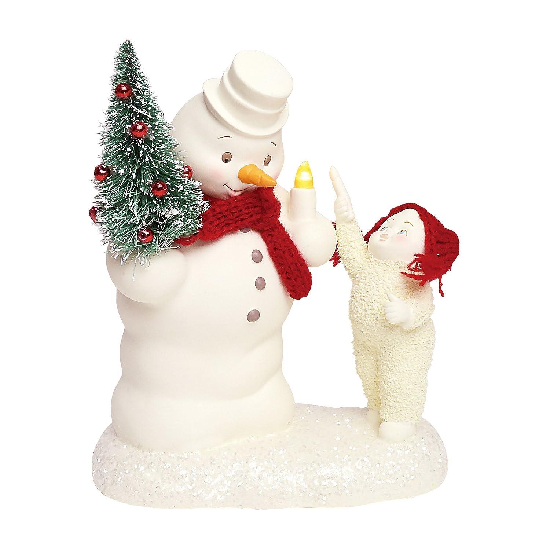 Snowbabies Lighting The Snowy Night Figurine