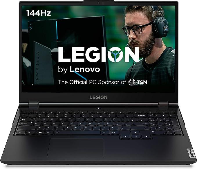 "Lenovo Legion 5 Gaming Laptop, 15.6"" FHD (1920x1080) IPS Screen, AMD Ryzen 7 4800H Processor, 16GB DDR4, 512GB SSD, NVIDIA GTX 1660Ti, Windows 10, 82B1000AUS, Phantom Black | Amazon"