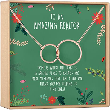 """""""To An Amazing Realtor"""" Necklace"""