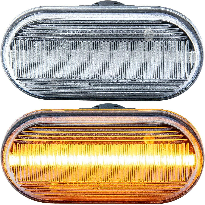 rm-style 7811 Transparente Intermitente Lateral LED Cristal