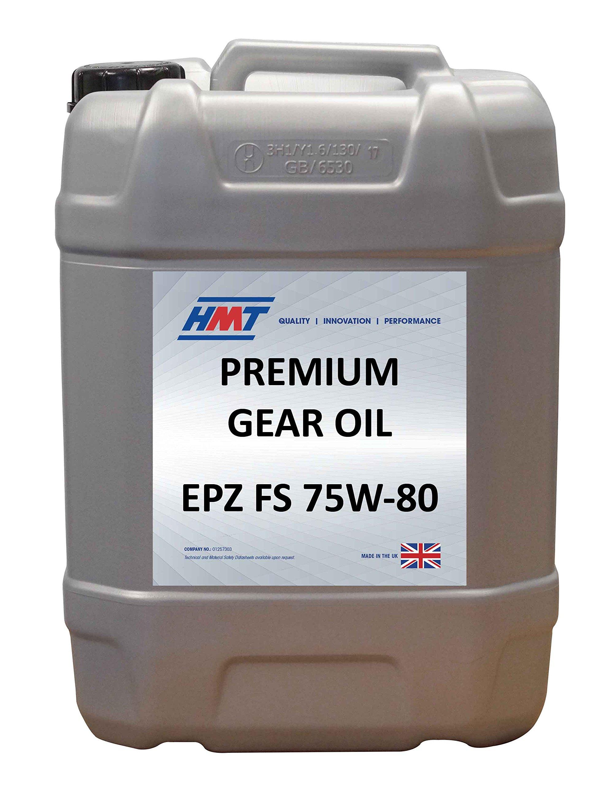 HMTG157 Premium Gear Oil EPZ FS 75W-80 - 20 Litre Plastic by HMT