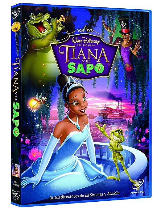 Tiana y el sapo [DVD]: Amazon.es: John Musker, Ron Clement ...