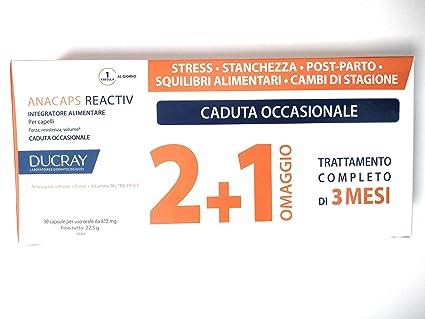 Anacaps - Ducray Tratamiento Reactiv de 60 + 30 comprimidos para la caída ocasional del cabello