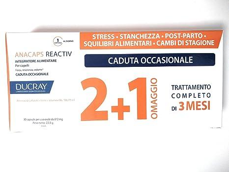 Anacaps - Ducray Tratamiento Reactiv de 60 + 30 comprimidos para la ...