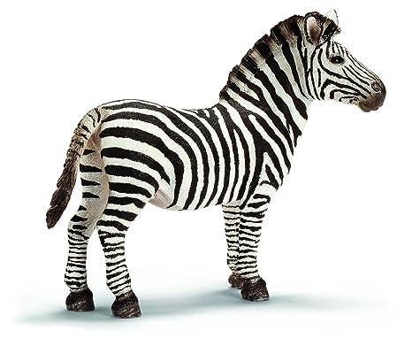 amazon com schleich male zebra schleich toys games