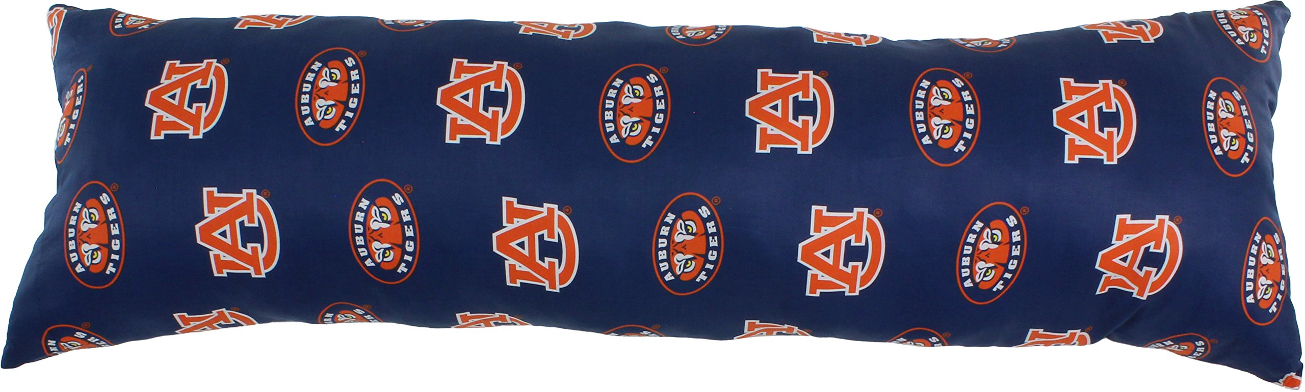 College Covers Auburn Tigers Printed Body Pillow, 20'' x 60''