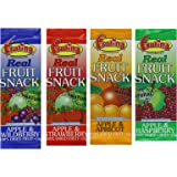 Frutina Real Fruit Snack Variety Box 15 g (Pack of 60)
