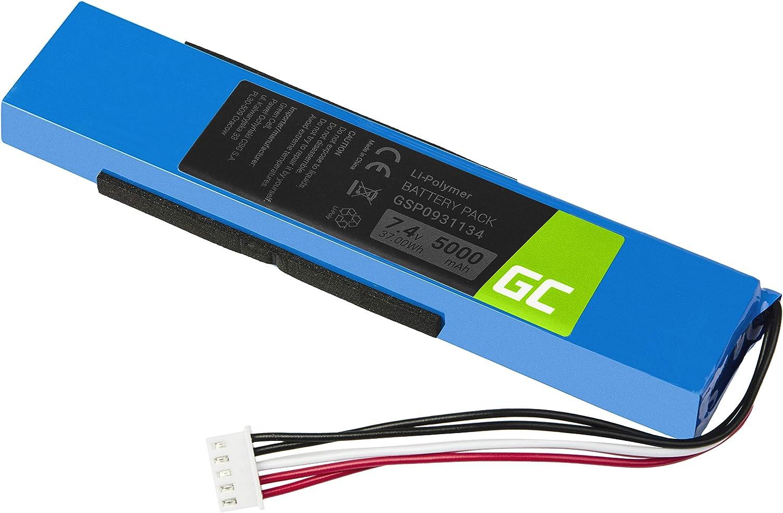 vhbw Akku Ersatz f/ür JBL P763098 01A f/ür Lautsprecher Boxen Speaker 6000mAh, 3.7V, Li-Polymer