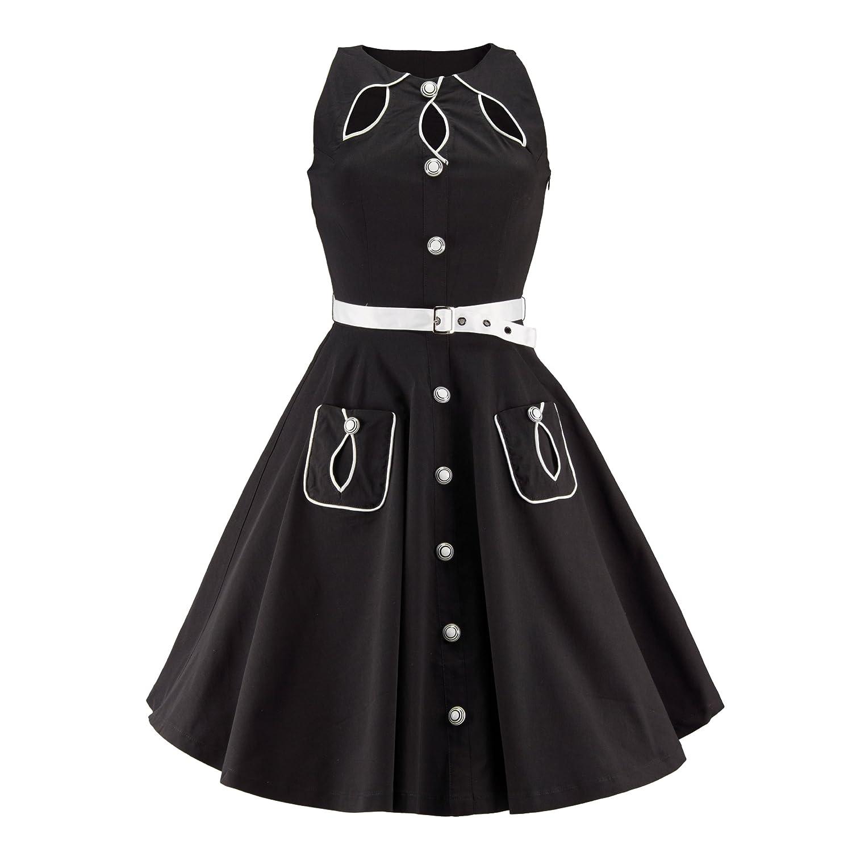 Voodoo Vixen Dress OP SIXTIES DRESS black M