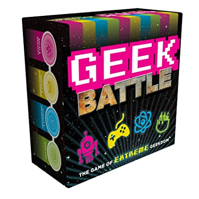 Geek Battle: The Game of Extreme Geekdom (Nerdy Gifts, Gifts for Nerds, Geeky Gifts): Forrest-Pruzan Creative: Toys & Games [5Bkhe1106158]