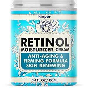 Anti-Wrinkle Cream for Face with Lifting and Firming Effect - Fine Lines, Double Chin, Neck Firming - Anti-Aging Face Moisturizer for Women - Made in the Usa - Day and Night Retinol Cream for Face