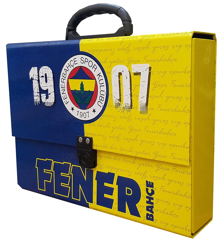 Heft Hakan Canta Fenerbahce Istanbul Trousse d/école Trousse /à crayons Trousse Taille-crayon Classeur Crayon