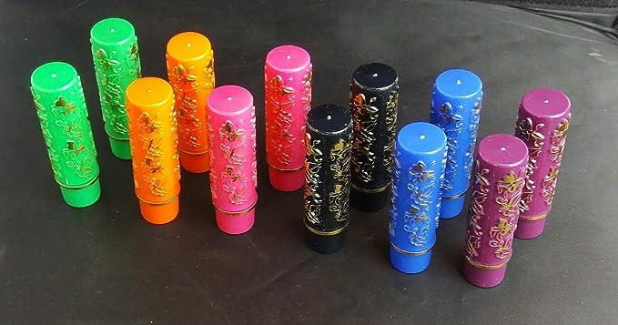 novedad pack 12 unidades Pintalabios magico de lux Hare 33 Taiwan original con pegatina, sin aroma, calidad extra 2 ...