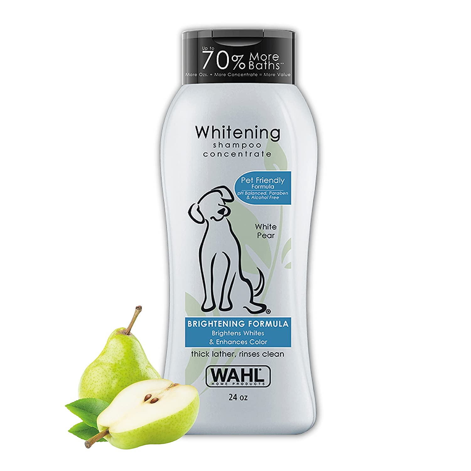 Wahl Dog/Pet Shampoo, Color Bright