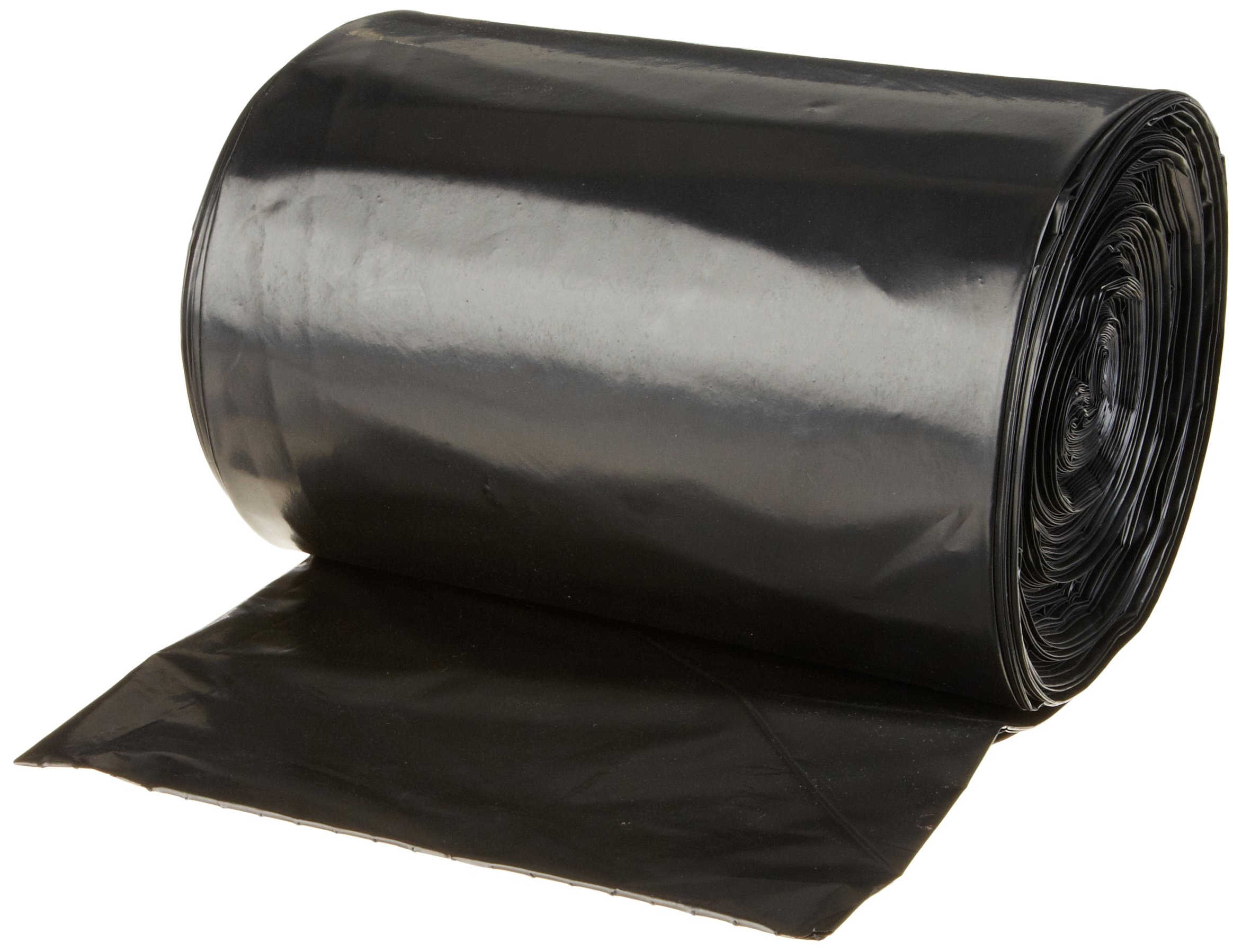 Berry Plastics 618897 Ruffies Pro Twist Tie Heavy Duty Contractor Bag, 42 Gallon Capacity, 3 mil Thick, Black (Box of 20)