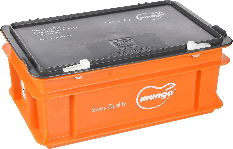 Stk MUNGO 1000050 MN D/übel 5x 25 Nylon orange 100 St/ück