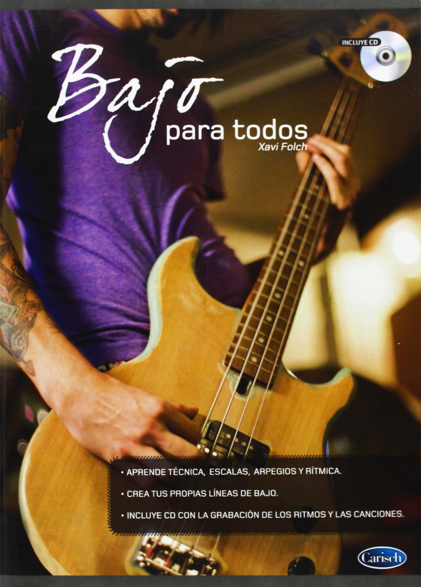 FOLCH X. - Bajo para Todos para Bajo (Inc.CD): FOLCH X.: 9788438710784: Amazon.com: Books