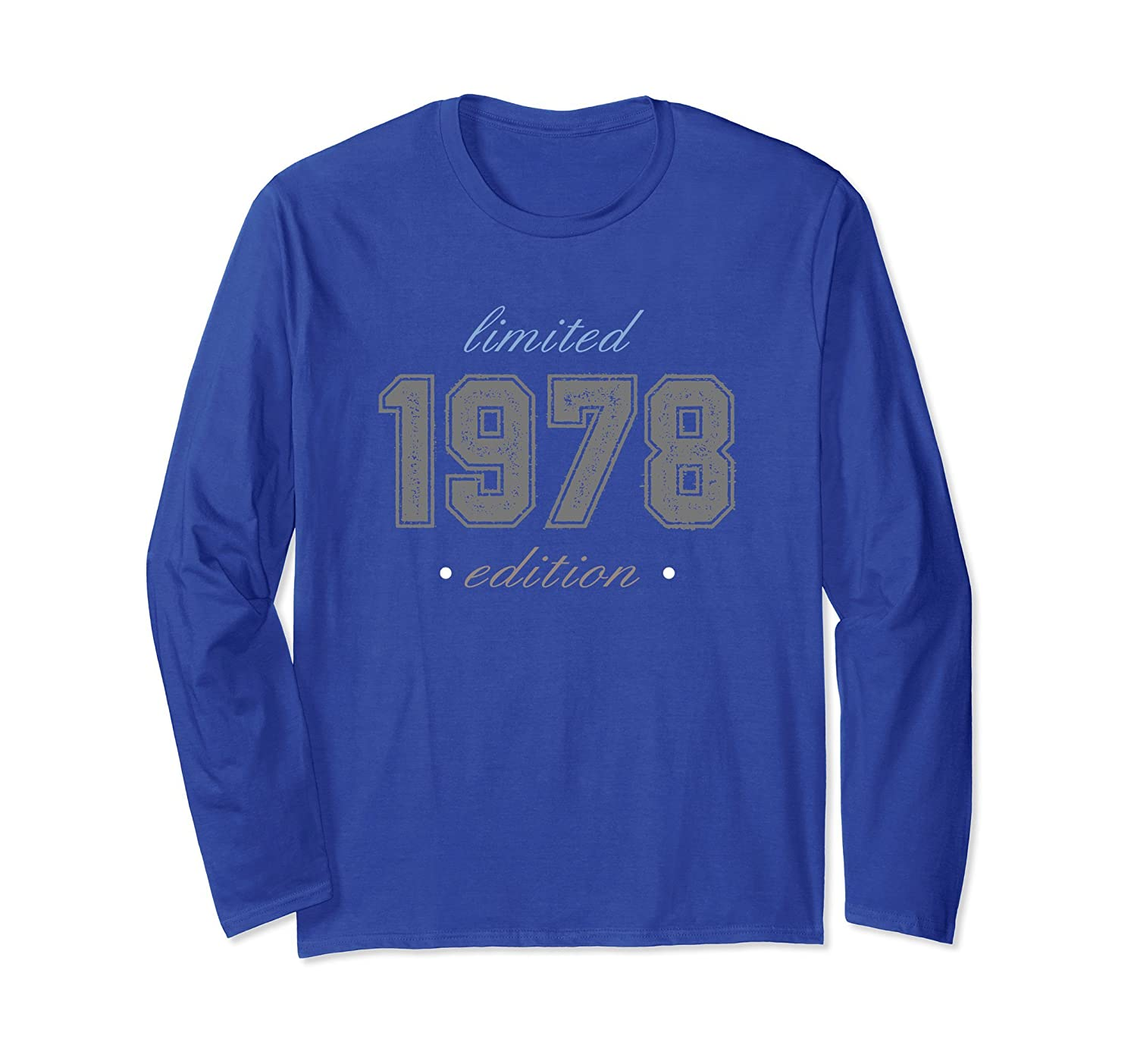 1978 Limited Edition Shirt Fortieth Birthday Distressed Tee-alottee gift